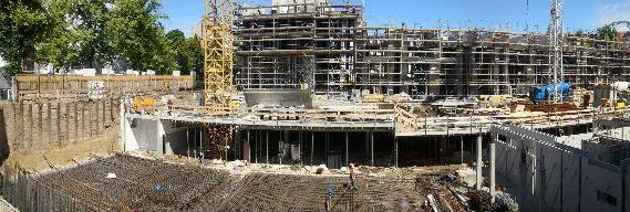 Baustelle Marthashof