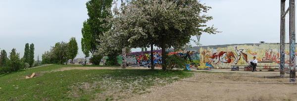 Prenzlauer Berg. Mauerpark. An sich ein netter Ort.
