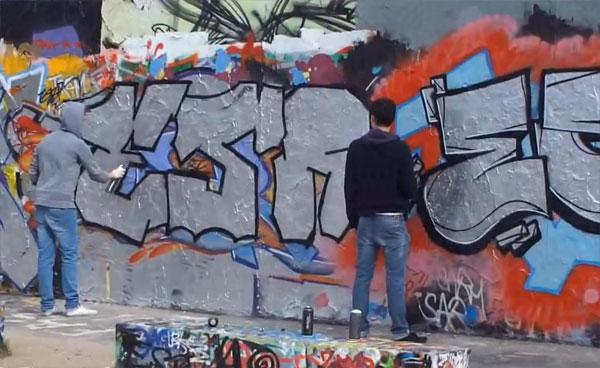 2010. Berlin. Graffity im Mauerpark