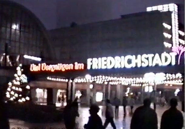 1988. DDR. Friedrichstadtpalast