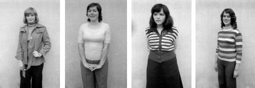 1976. Studenten in Leipzig. Foto: H.M. Sewcz