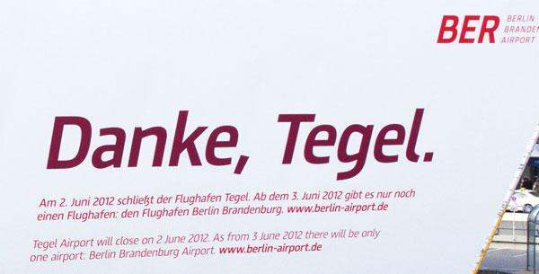 Ab dem 3. Juni 2012 gibt es nur noch einen Flughafen ...