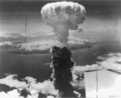 Japan-Nagasaki-Atomexplosion-1945 - Quelle: Library of Congress
